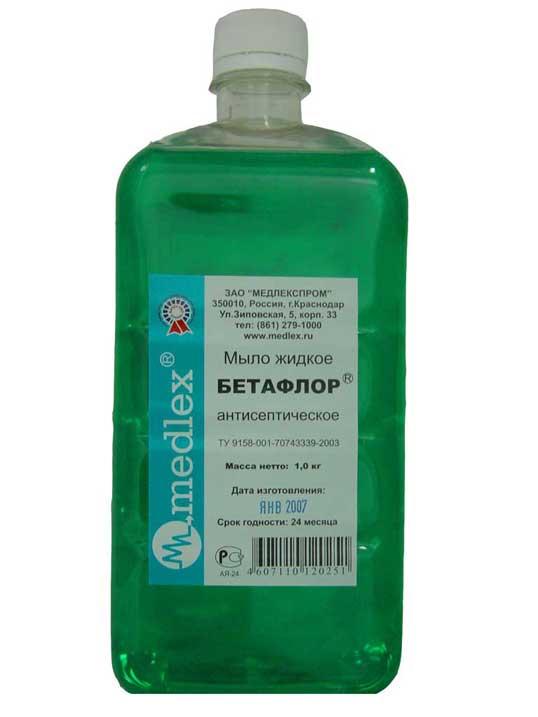 бетафлор мыло жидкое инструкция